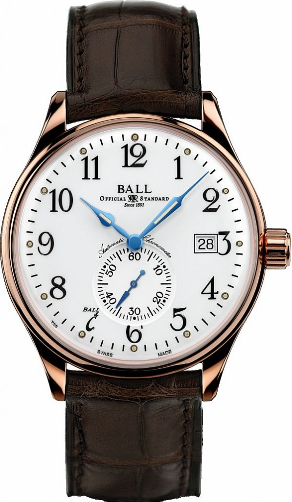 Ball-Trainmaster-Standard-Time-Rose-Gold