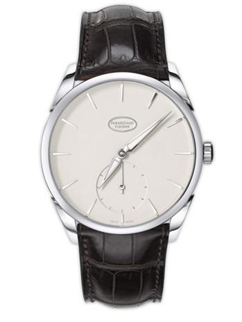 Parmigiani Tonda 1950 White Gold Grained White Dial Classic Watch