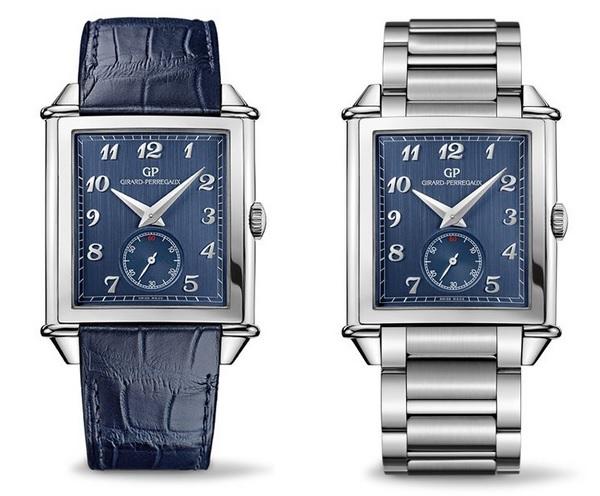 Girard-Perregaux-Vintage-1945-XXL-Blue-Dial-on-strap-and-bracelet