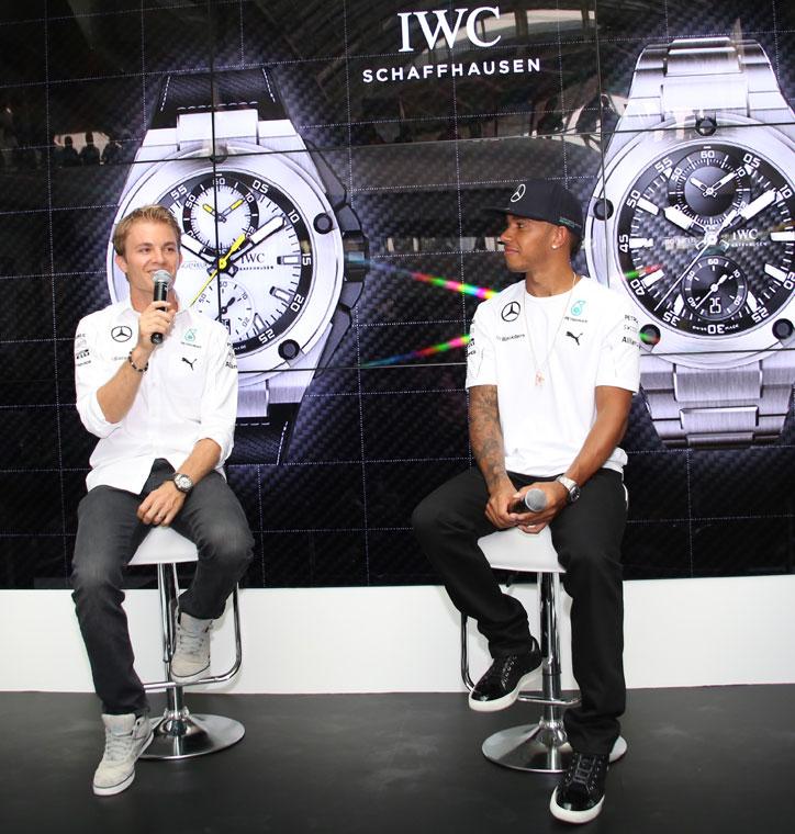 IWC_Nico-Rosberg_Lewis-Hamilton